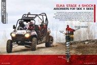 absorbers for side x sides - Elka Suspension