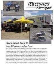 Wayne Matlock Round #5 Lucas Oil Regional ... - Elka Suspension