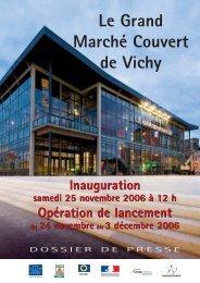 le grand marché couvert - Vichy
