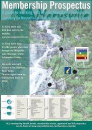 Membership Prospectus - Marysville Tourism