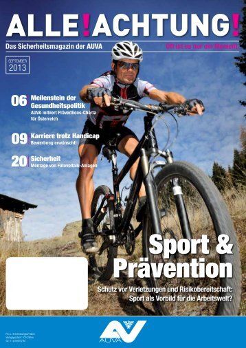 Sport & Prävention - Alle!Achtung!