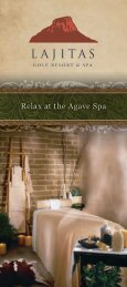 Relax at the Agave Spa - Lajitas Golf Resort and Spa