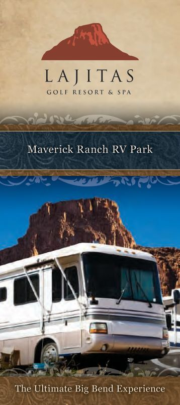 Maverick Ranch RV Park - Lajitas Golf Resort and Spa