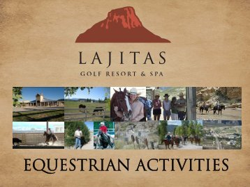 Equestrian Activities - Lajitas Golf Resort and Spa