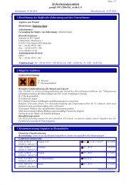 Sicherheitsdatenblatt DE - Schenker & STC