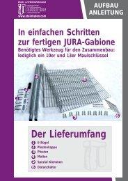 Der Lieferumfang - und Steinhafen GmbH
