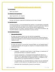 Vertegenwoordiger GVK industrie - Vosschemie