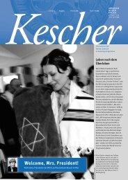 Mrs. President! - Jüdische Liberale Gemeinde Köln Gescher ...