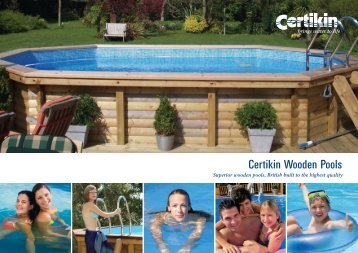 Certikin Wooden Pools - Clear Natural Spas