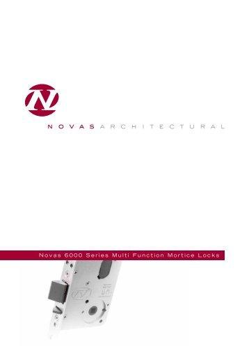 Novas 6000 Series Multi Function Mortice Locks