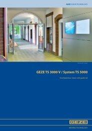 GEZE TS 3000 V / System TS 5000 - Safelincs
