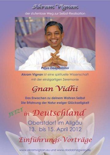 Vortrag GnanVidhi 2012_vs - Events Dadabhagwan