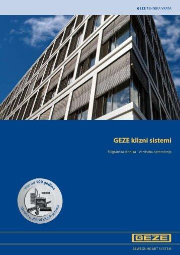 GEZE klizni sistemi - Info Market
