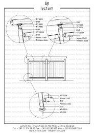 Pogledajte tehnički crtež ograda i gelendera u .pdf formatu - Lyctum