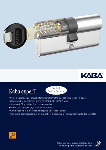 Kaba experT - Quincaillerie PORTALET