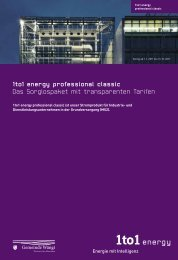 1to1 energy professional classic Das ... - Gemeinde Wängi