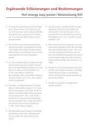 Ergänzende Erläuterungen und Bestimmungen - Gemeinde Wängi
