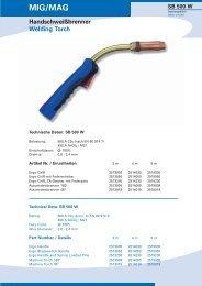 MIG/MAG SB 500 W - bei AUTOGEN-RITTER
