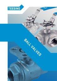 ball valves - Teesing BV