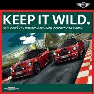 Keep it wild. - Mini.ch