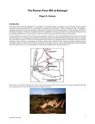The Roman Flour Mill at Barbegal - WaterHistory.org