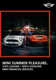MINI summer pleasure. - Mini.ch