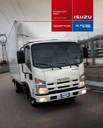 N Evolution Euro 5. Adaptor. Light-Duty Trucks - Isuzu