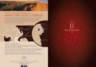 to download Ballygally Castle Brochure - Hastings Hotels