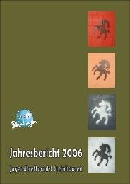 Jahresbericht Internett - Jugendarbeit Steinhausen