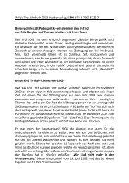 Politik Tirol Jahrbuch 2013