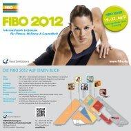 Die FiBO 2012 auF einen Blick - Humotion Website