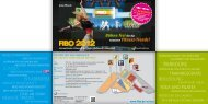 Flyer Privatbesucher FIBO 2012