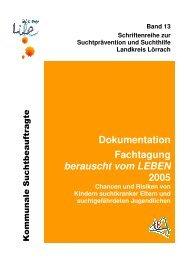 Schriftenreihe Band 13 - Sucht-loerrach.de