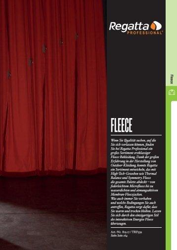 Fleece - Stickarbeiten Bock