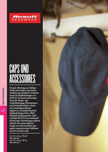 capS und acceSSoireS - Stickarbeiten Bock