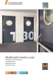 Multifunkční dveře z oceli - Tor-Master