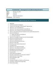 Protokoll der 1. Sitzung des 53. Studierendenparlaments ...
