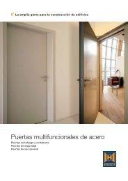 Puertas multifuncionales de acero - EIRINHAS