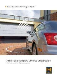 Automatismos para portões de garagem - EIRINHAS