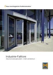 Industrie-Falttore