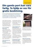 Tre smarta alternativ när du ska byta garageport - Garageportexperten - Page 2