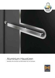 Katalog Aluminium-Haustüren - Hörmann KG