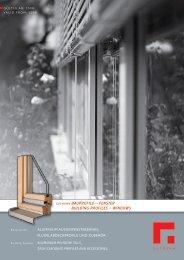 gutmann bauprofile – fenster building profiles – windows - Kalesy
