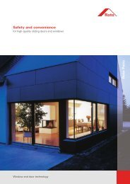 ROTO sliding and folding door systems - PDF catalog - Kalesy