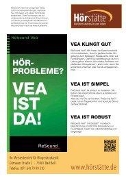 informationen über vea zum download (pdf) - hoerstaette.de