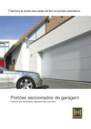 Portões seccionados de garagem - EIRINHAS