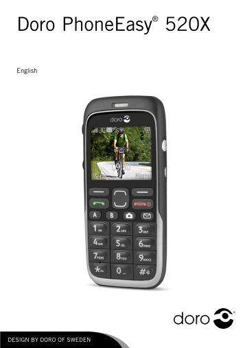 Doro 520 user manual