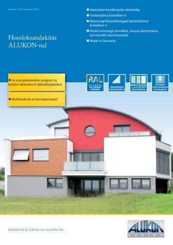 ALUKON Külsőtokos redőny (pdf)