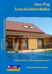Prospektus 2011 (pdf) - Jász-Pap Árnyékolástechnika!