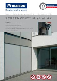 SCREENVENT® Mistral AK